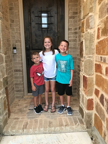 Olivia, Kaleb and Jackson | Kindergarten, 2nd grade and 4th grade | Camacho Elementary