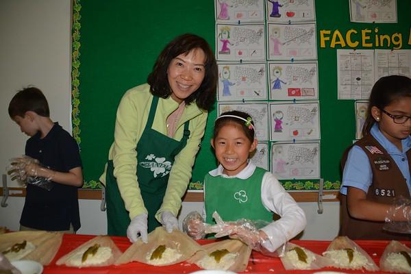 Tamales in Lower School
