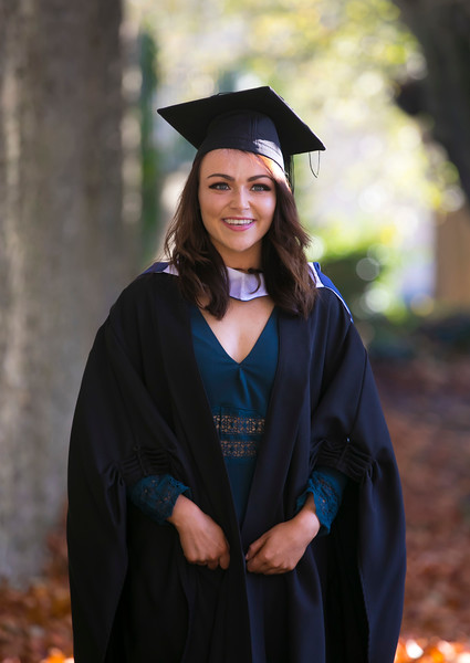 01/11/2018. Waterford Institute of Technology (WIT) Conferring Ceremonies 2018. Pictured is Shannon Burke Clonmel. Picture: Patrick Browne
