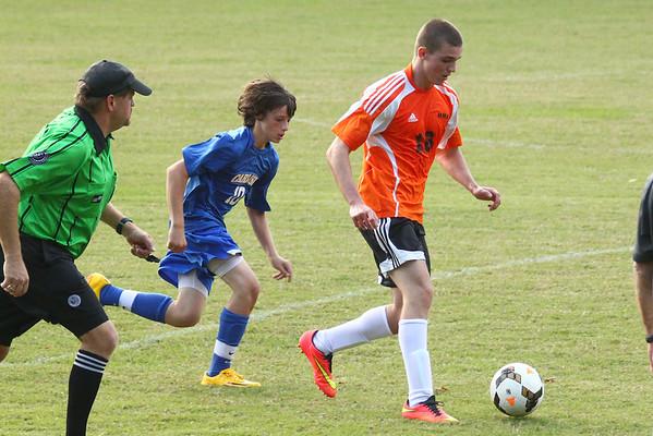 JV Soccer v Carlisle  School