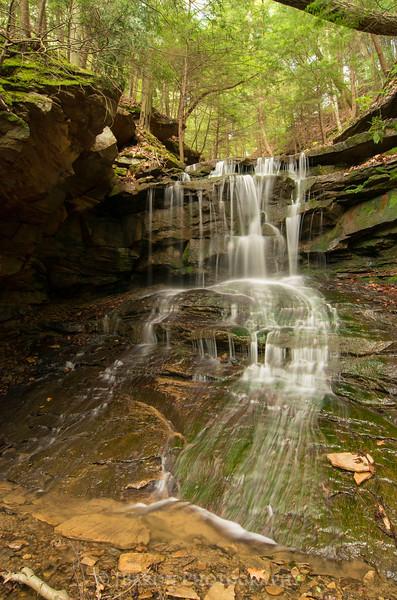 Upper Eckert Falls in May