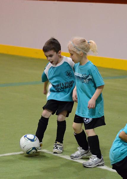 U6 Indoor Soccer Jan 2012