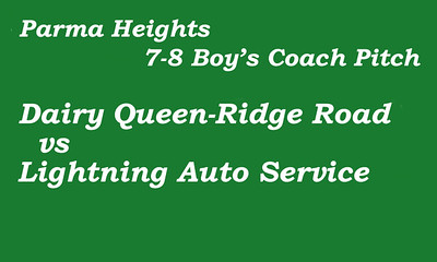 170606 Parma Heights Boy's 7-8 Coach Pitch Field 2