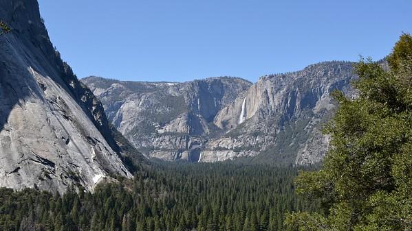 Yosemite, Illilouette, Vernal and Nevada Falls (April 2018)