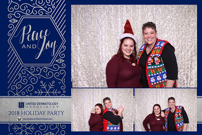 United Derm Holiday Party 2018