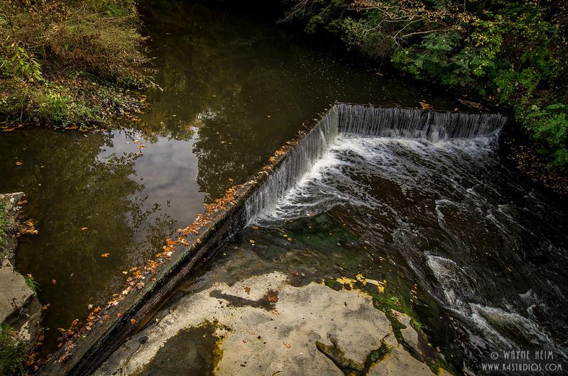 Upper Mills Falls   Photography by Wayne heim