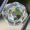2.12ct Octagonal Flat Cut Diamond, GIA M VS2 7