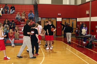 Middle School Boys Basketball 8A - 2006-2007 - 1/12/2007 Fruitport