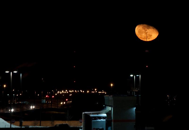 Moon over Hornbacher's