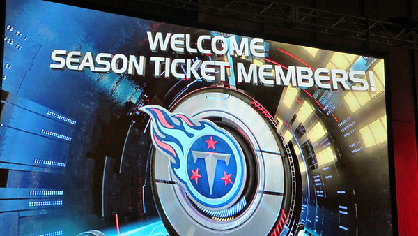 Titans Season Ticket Members Appreciation Bash February 2014