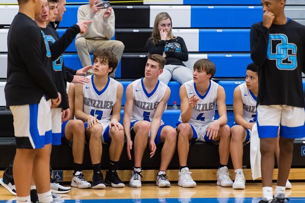 Oak Grove Basketball vs Thomasville - Senior Night