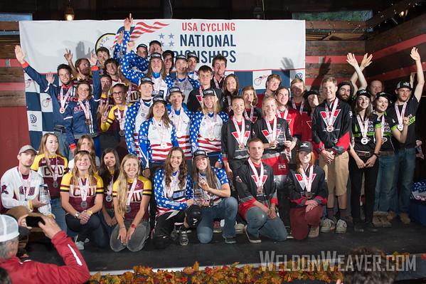 14-10 Collegiate MTB Nats Podiums DS Omnium