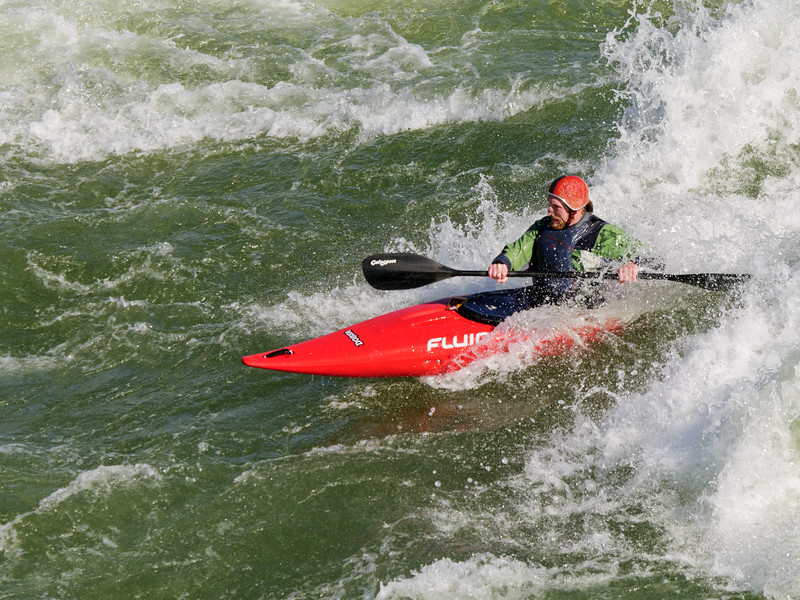 Great Falls Kayaker