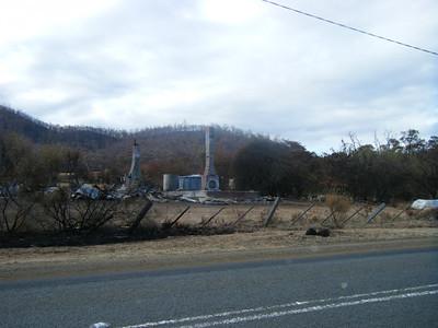 pat's bushfire photos