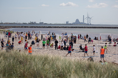 Beach håndbold på Ishøj Strand Juni 2015 & 2019