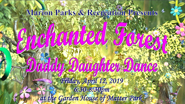 Daddy Daughter Dance  The Garden House  4-12-19