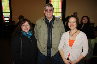 Renovation and Anniversary Celebration, Chamber Mixer, Banditelli, Community Arts Center, Tamaqua (2-28-2014)