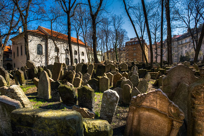 Prague Jewish Quarter Cemetary