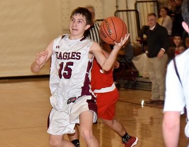 AMHS JV Boys Basketball vs TV photos by Gary Baker