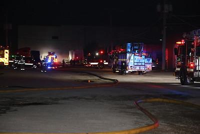 Bensenville Box alarm pallet fire 10-3-18