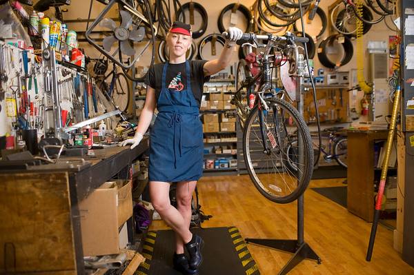 Portraits Series: Bike Mechanics
