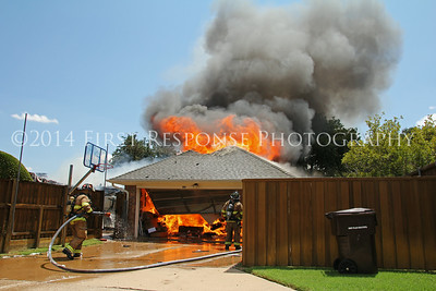 Plano, TX.  Hampshire  Dr. Residential structure fire