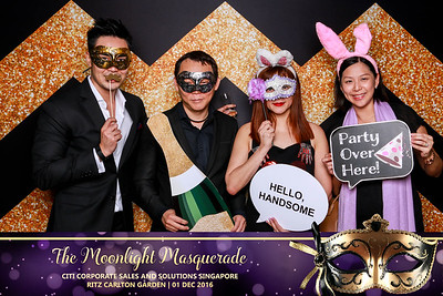 Citibank Moonlight Masquerade
