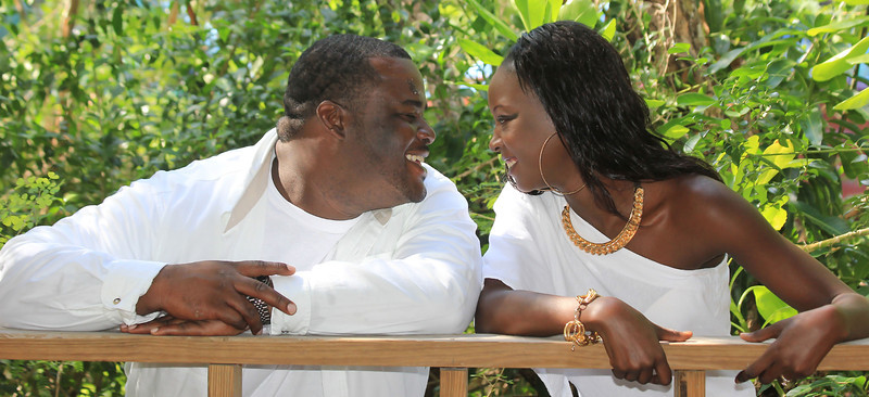 Nakitha + Owen - Engagement Shoot - Great Exuma, Bahamas