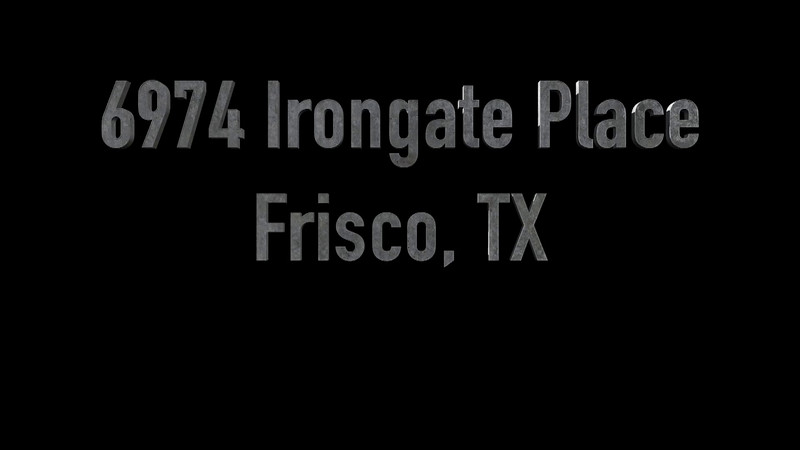 6974 Irongate Place, Frisco, TX