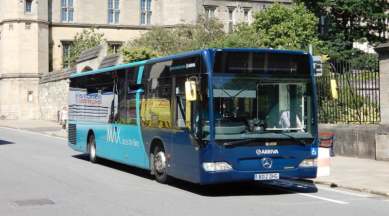 3030 - BD12DHG - Oxford (St Aldate's)