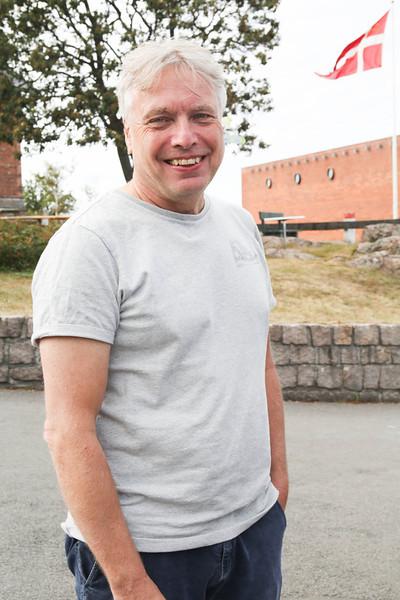 Uffe Elbæk, Danish politician, Folkemødet, Bornholm, 2014