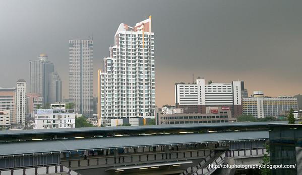 Rain in Bangkok - March 2010
