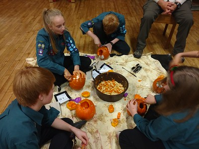 Scouts - Halloween themed night