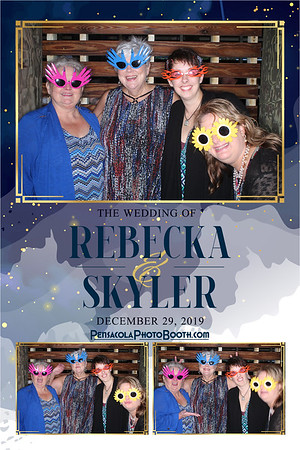 Rebecka & Skyler's Wedding 12-29-2019