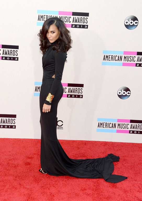 . Actress Naya Rivera attends the 2013 American Music Awards at Nokia Theatre L.A. Live on November 24, 2013 in Los Angeles, California.  (Photo by Jason Kempin/Getty Images)