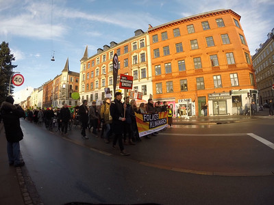 2015 M11 291115 Copenhagen climate march