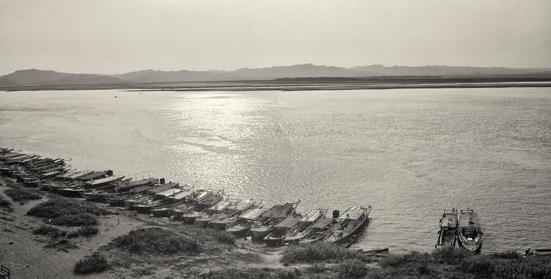 Iyarawadi River. Bagan. Myanmar