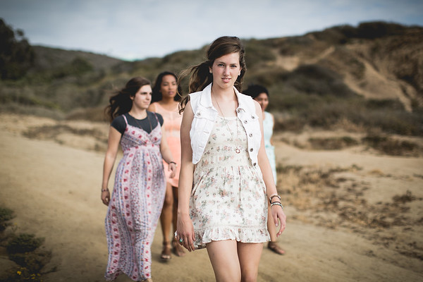 Amyra, Annie, Lizzy, Claudia