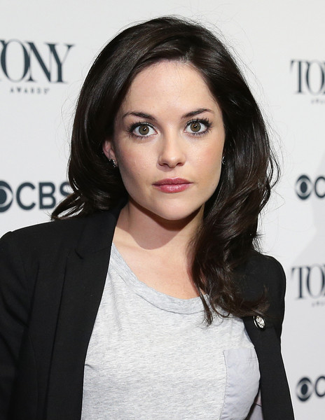 ". Actress Sarah Greene, nominee for Best Performance by an Actress in a Featured Role in a Play for ""The Cripple of Inishmaan,\"" attends the 2014 Tony Awards Meet The Nominees Press Reception at the Paramount Hotel on April 30, 2014 in New York City.  (Photo by Neilson Barnard/Getty Images for Tony Awards Productions)"