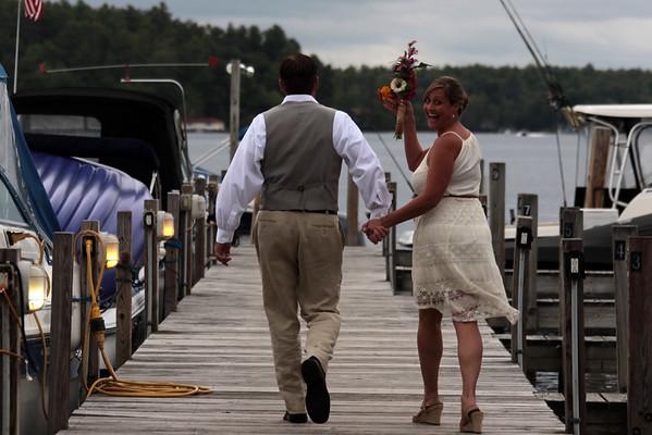 Lawrence La Chance wedding