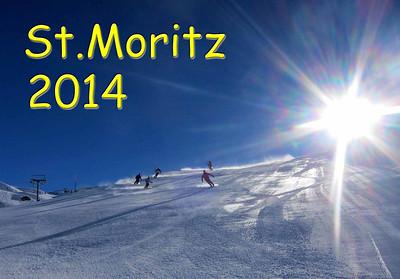 2014 St.Moritz mit Ski