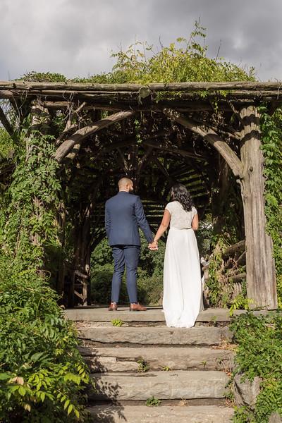 Central Park Wedding - Nusreen & Marc Andrew