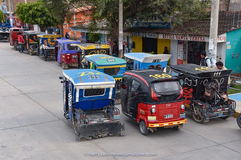 motor taxi Yungay