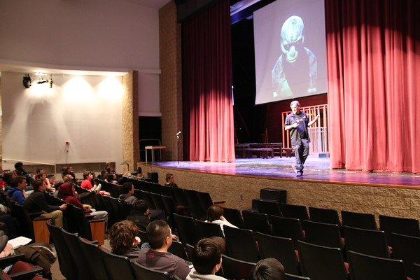 3D Printing Guest Speaker Shares Background on Hollywood Movies