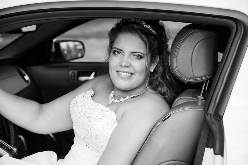 Huwelijk Calissa en Radjinder