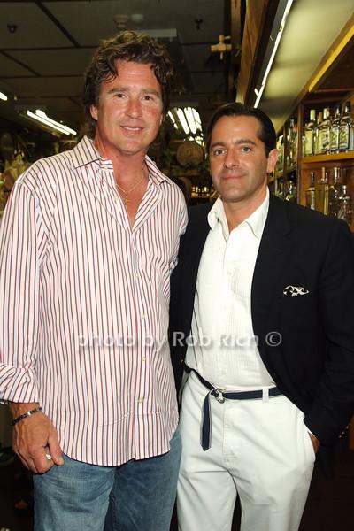 Tim McClung, Christopher R. Obetz, President & CEO Classic Sports Brands photo by Rob Rich © 2008 516-676-3939 robwayne1@aol.com