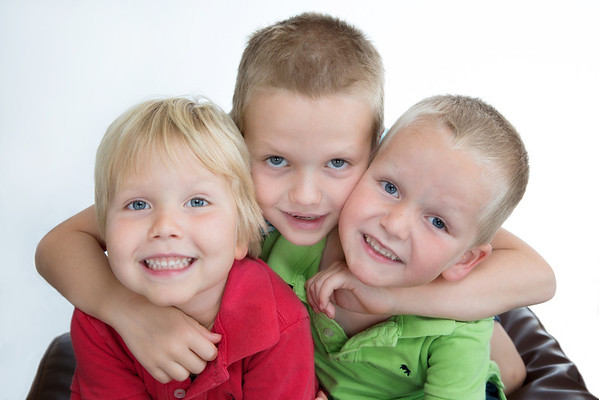 Elliott, Ryan and Callum
