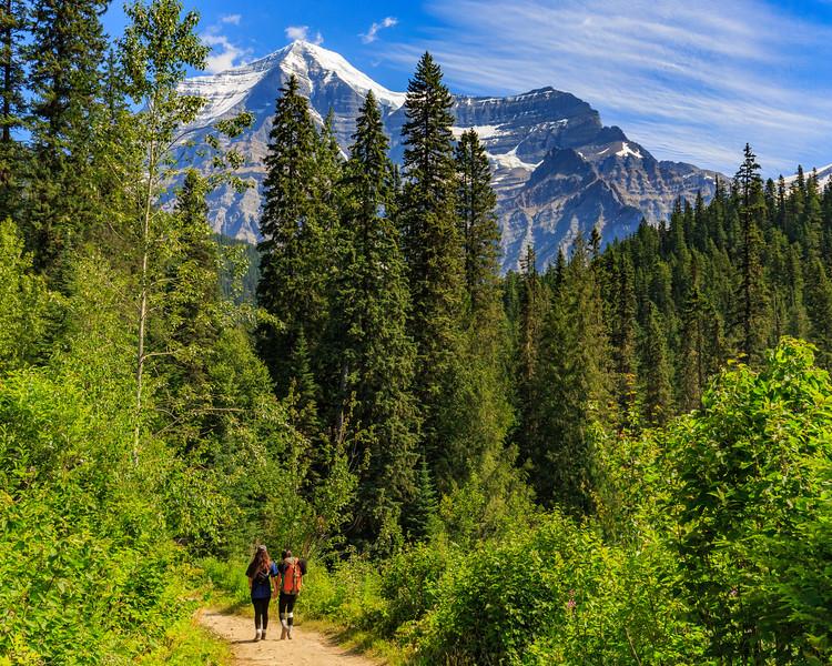 Towards Mount Robson