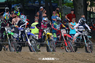 Switchback Night Race by Amber