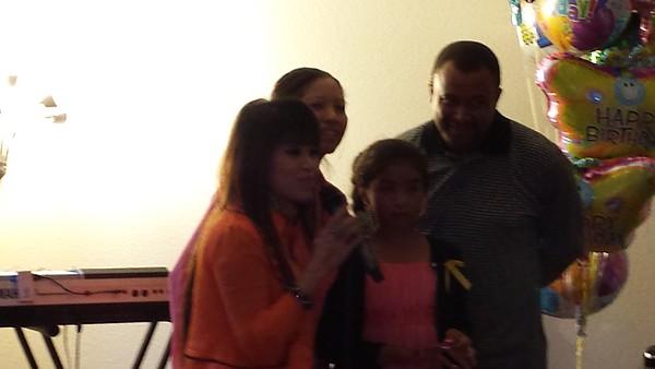 Victoria's Birthday party Oct. 2014